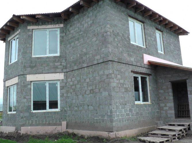 Керамзитобетонный дом