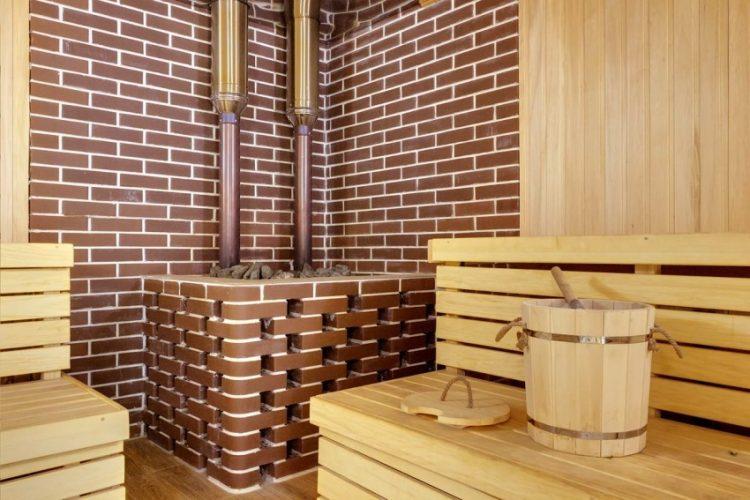 Отделка парилки в бане