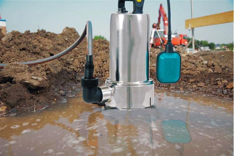 Откачка грязной воды