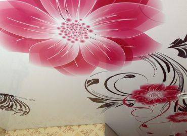 Арт-печать на натяжных потолках