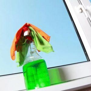 Как почистить окна